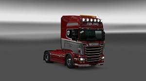 Roling paint job for Scania RJL