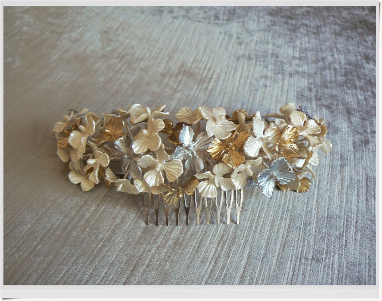 corona novia porcelana