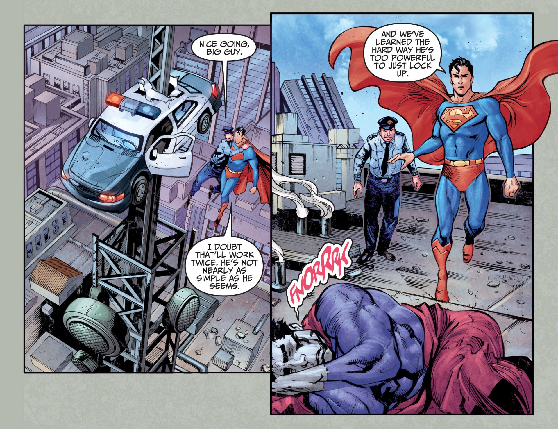 Read online Adventures of Superman [I] comic -  Issue #25 - 9