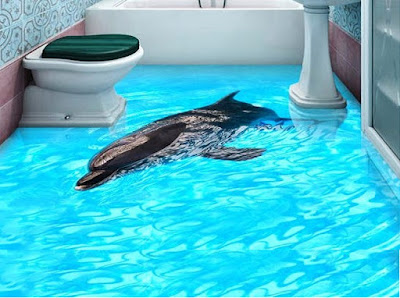 3D flooring designs images 2019 3D epoxy floors for bathroom