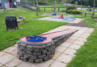 Crazy Golf at Southampton Outdoor Sports Centre