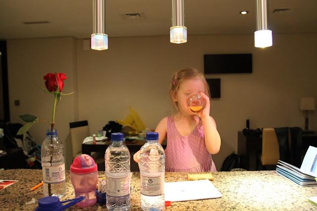 Dubaissa huoneistohotellissa sai syödä oman aamupalan