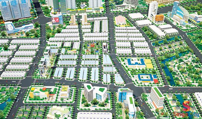 Dự án đất nền Singa City Quận 9 -1