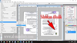 Trik jitu Scan dokumen berukuran F4 atau legal