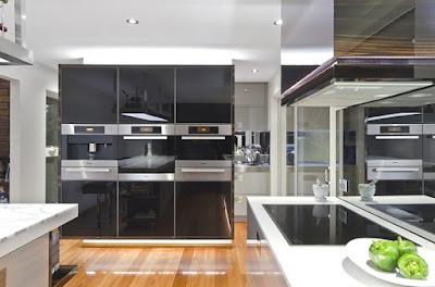 Tata Letak Interior Dapur Modern Minimalis