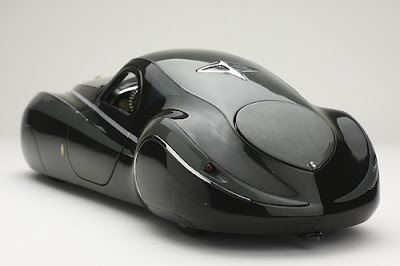 1939 Duesenburg Coupe Simone Midnight Ghost back look image