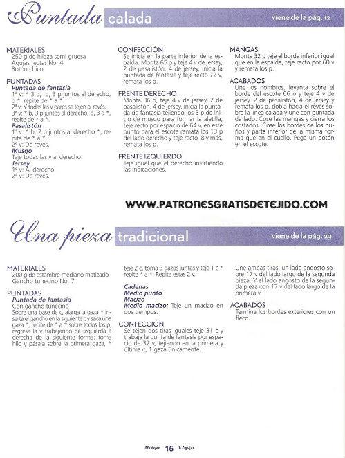 23 Prendas para Bebés y Niños / Revista en Español