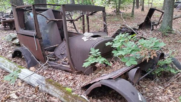 Just A Car Guy out in the woods of Virginia and this is