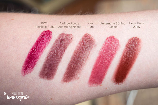 Autumn Lips Collection: Beerentöne im Herbst