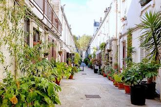 Paris : Cité Pilleux, souvenir ouvrier et bucolique de la fin du XIXème siècle - XVIIIème