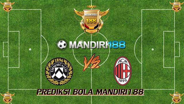 AGEN BOLA - Prediksi Udinese vs AC Milan 4 Februari 2018