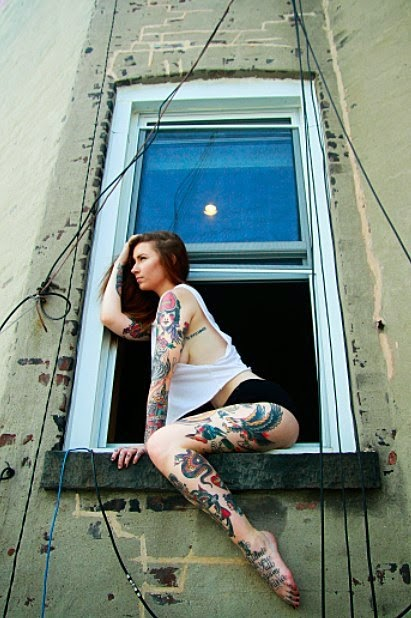 Jennie June  Sexy Girls With Tattoos