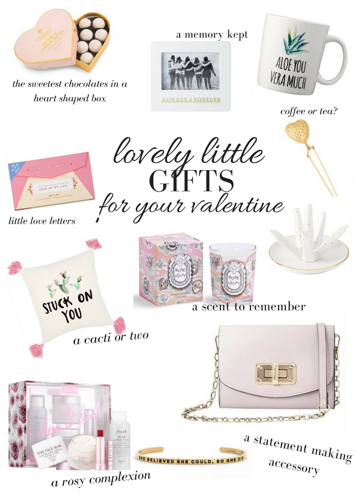 A Little More Than Hearts & Flowers | Lovely Little Gifts For Your Valentine Or Galentine | Gift Guide | labellesirene.ca