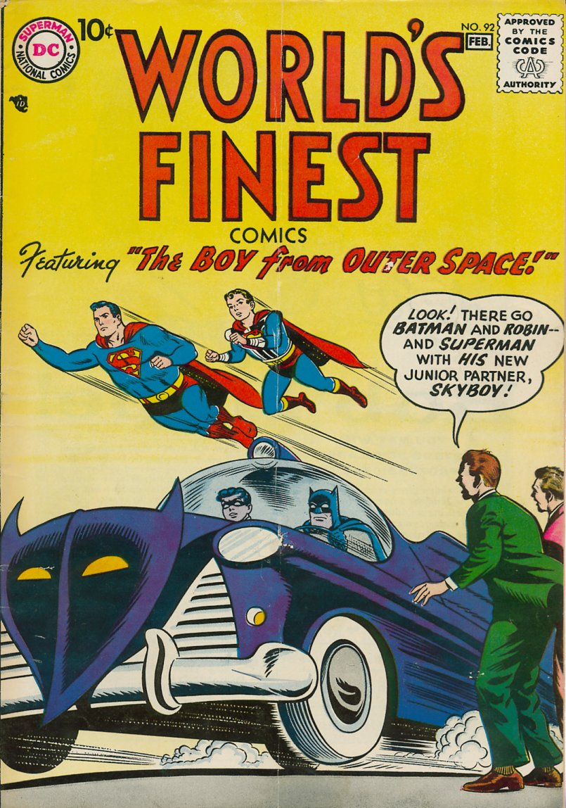 Read online World's Finest Comics comic -  Issue #92 - 1