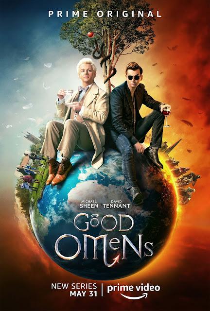 Good Omens, Póster, Michael Sheen, David Tennant, Amazon