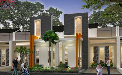 desain tiang rumah modern