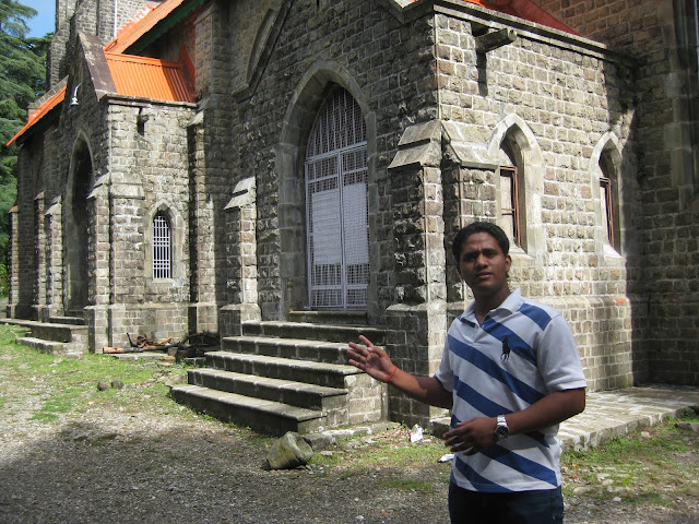 church of dharmshala
