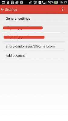 akun baru gmail melalui android