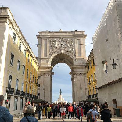 Lisboa. Plaza del Comercio