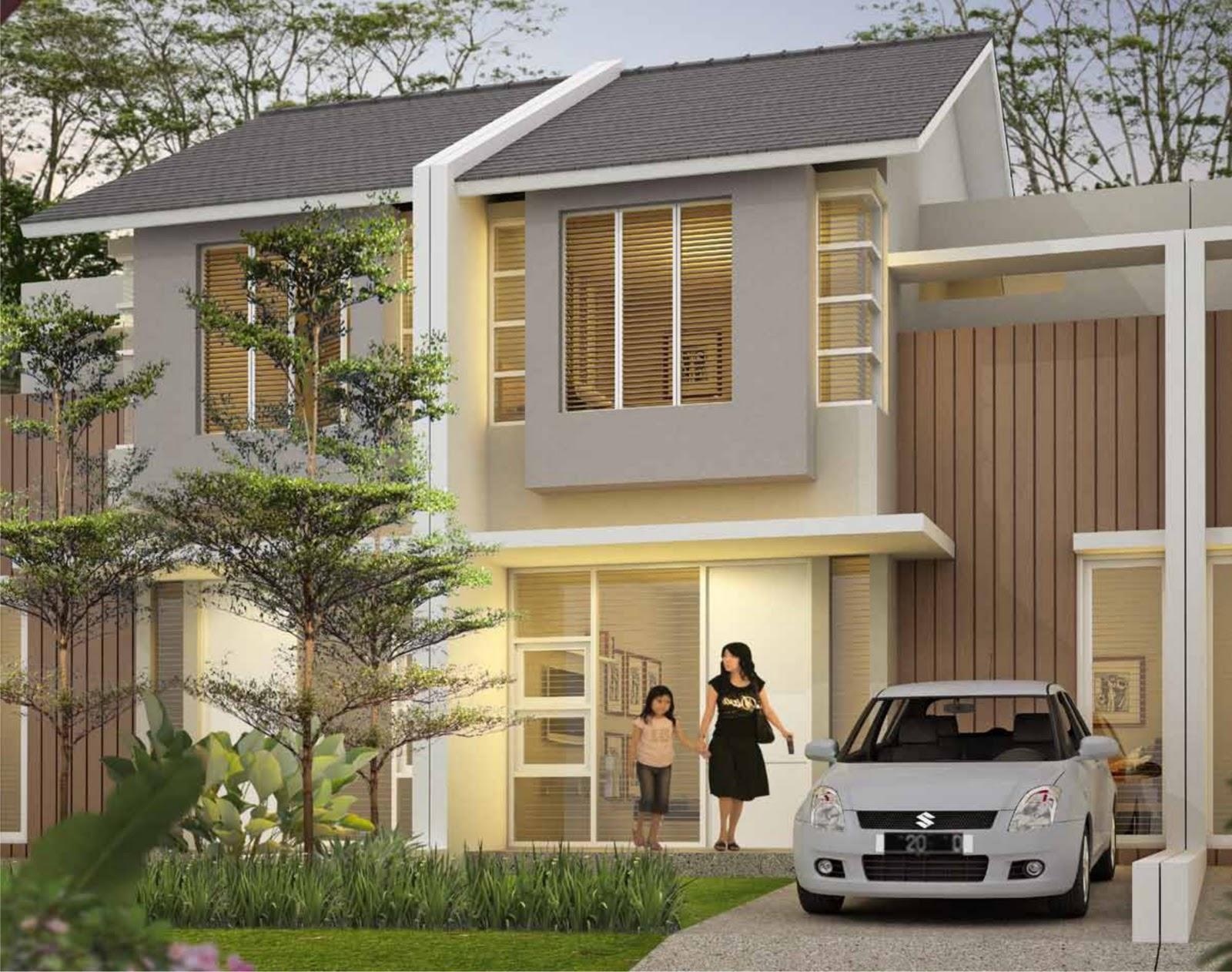 Property Pekanbaru  Spesifikasi rumah  type  woodland di