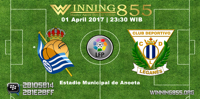 Prediksi Skor Real Sociedad vs Leganes 01 April 2017