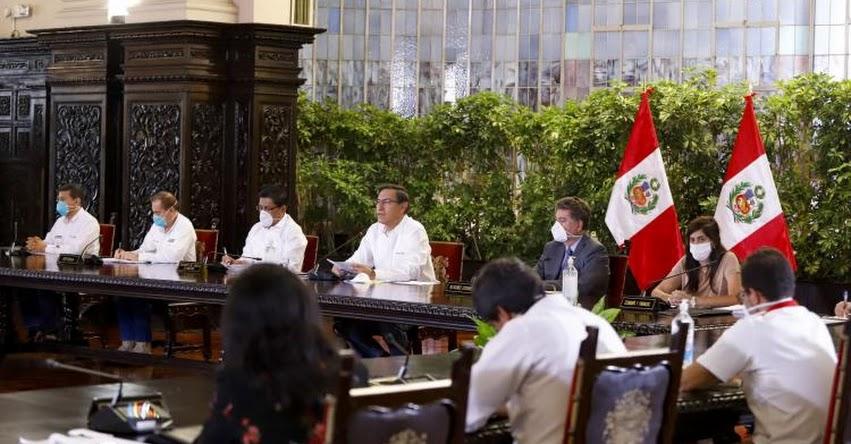 Estas son las últimas medidas decretadas por el presidente Martín Vizcarra