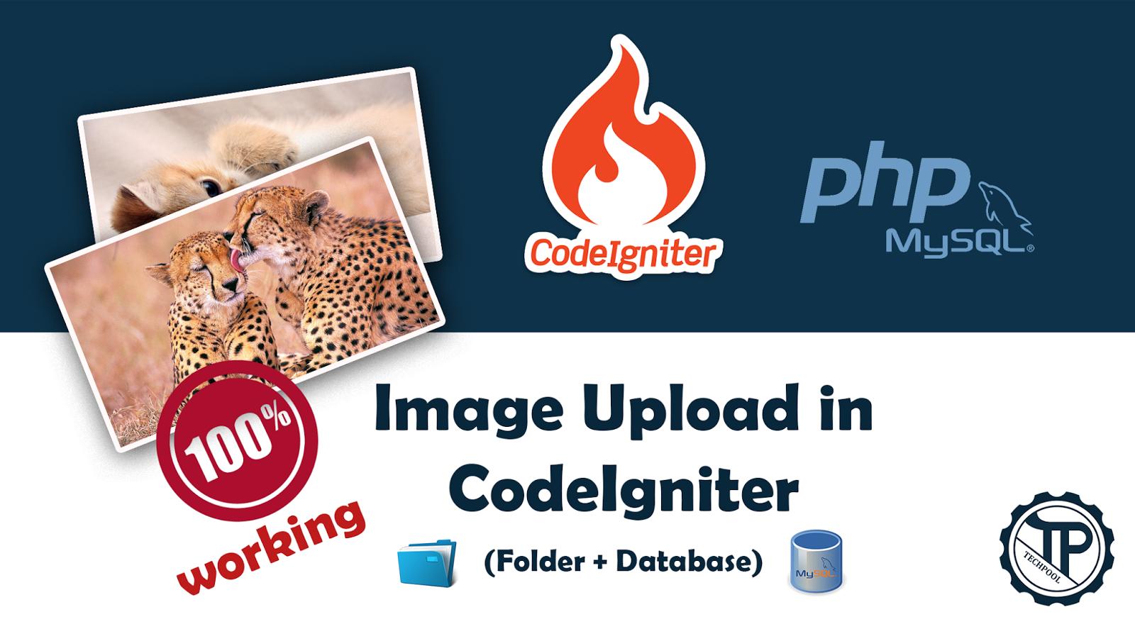 Codeigniter Image Upload