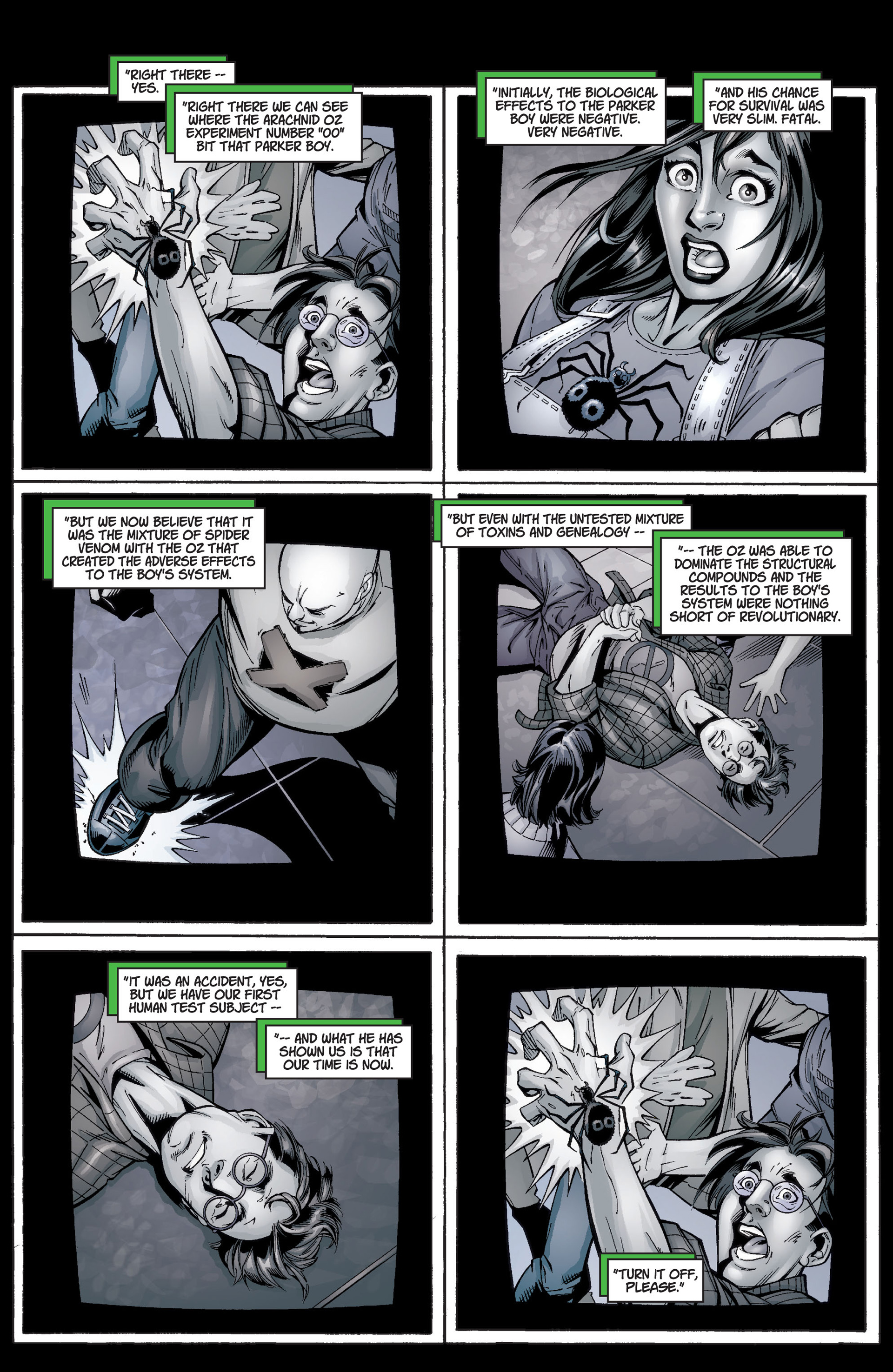 Read online Ultimate Spider-Man (2000) comic -  Issue #3 - 3