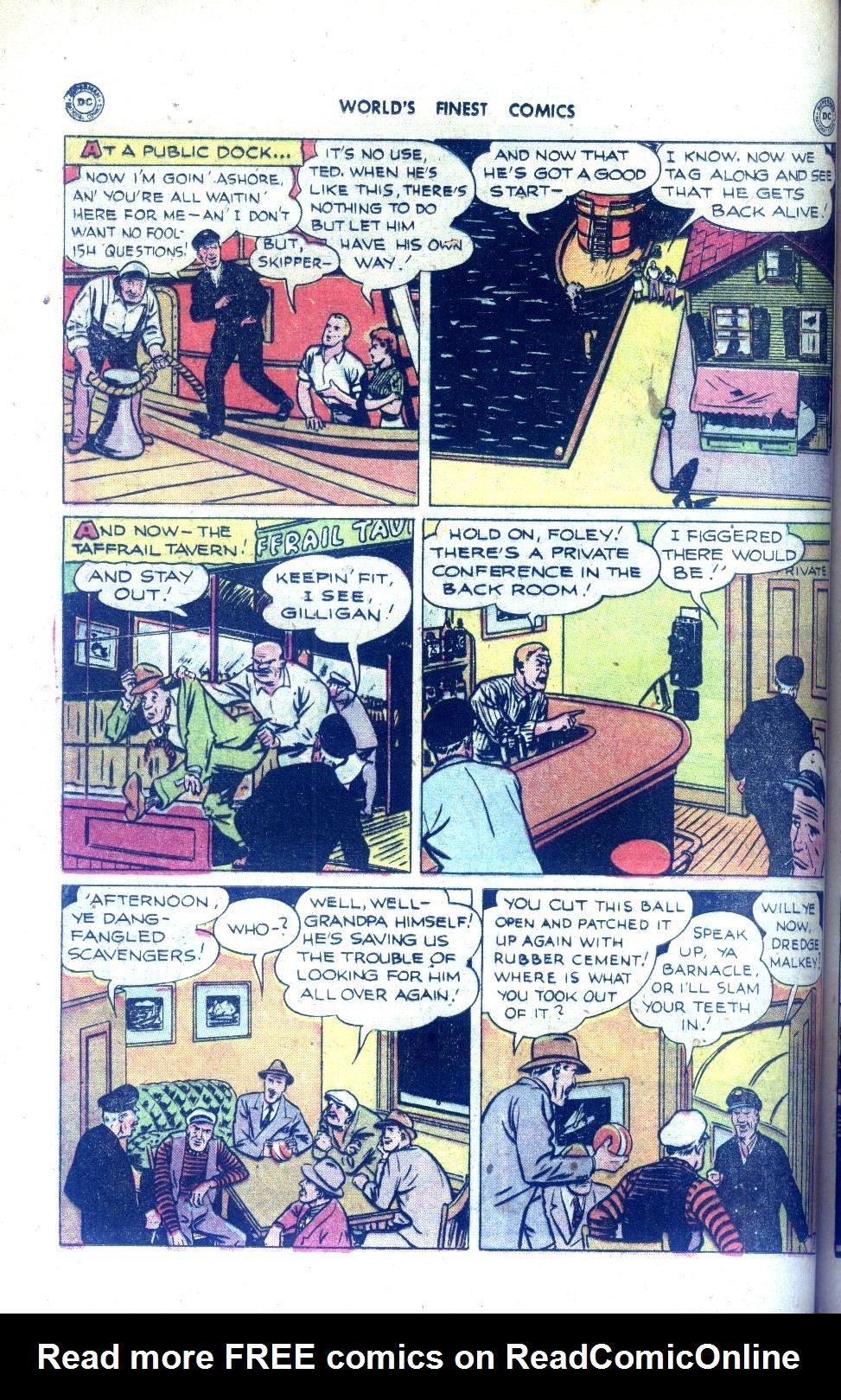 Read online World's Finest Comics comic -  Issue #43 - 36