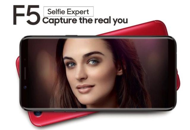 OPPO F5 Selfie Expert Bezel Tipis Harga Terjangkau