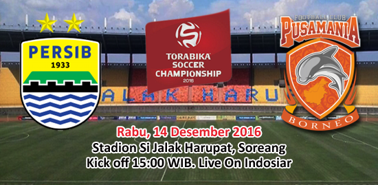 Persib vs Pusmania Borneo FC