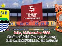 TSC 2016: Persib vs Pusmania Borneo FC