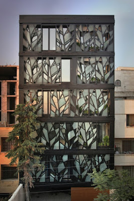glass modern facades - building front designs