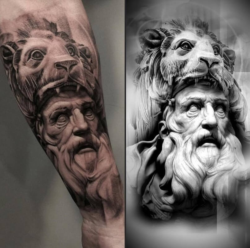 01-Glen-Preece-Paintings-and-tattoos-Side-by-Side-www-designstack-co