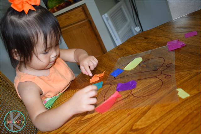 simple butterfly craft for kids toddler, preschool, prek, kindergarten
