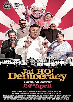 Jai Ho Democracy 2015 Hindi PreDVDRip 300mb