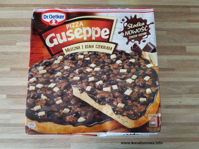 pizza czekoladowa
