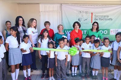 Inaugura Presidenta de DIF Sonora Ludoteca en Molino de Camou