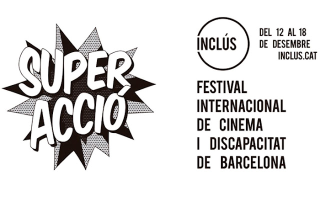 cartel del festival de cine sobre la discapacidad Inclús, en Barcelona
