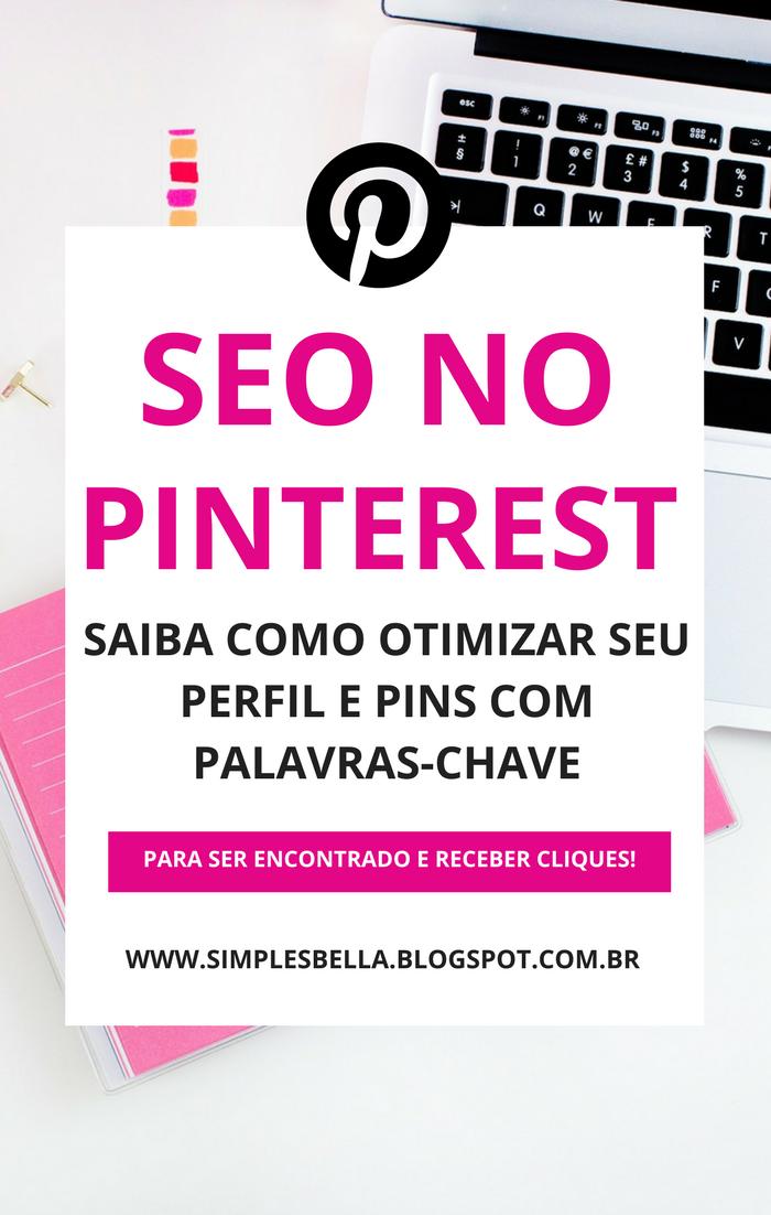 Como aplicar SEO e Palavras-chave no Pinterest