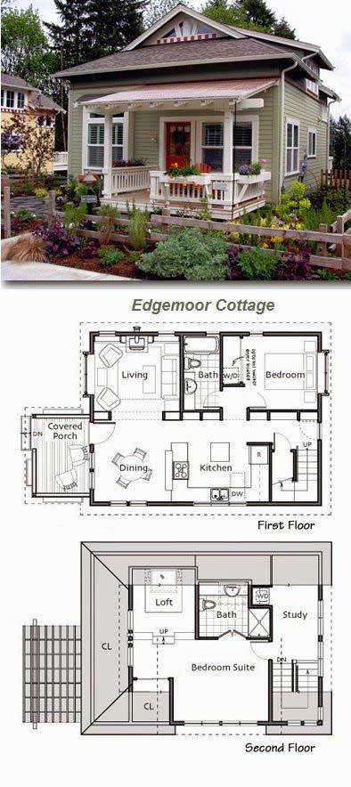 Tiny Home Designs: Honey I Shrunk The House: Welcome To Edgemoor Cottage
