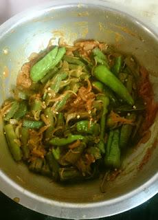Bhari hoye bhendi recipe