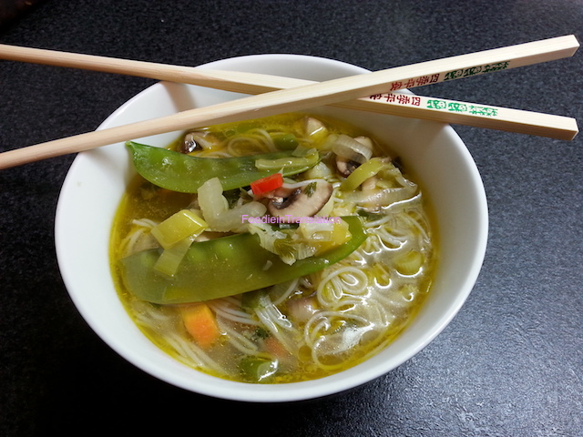 Vermicelli noodle soup - Zuppa di vermicelli di riso