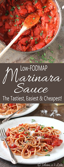 Easy Low-FODMAP Marinara Sauce  /  Delicious as it Looks