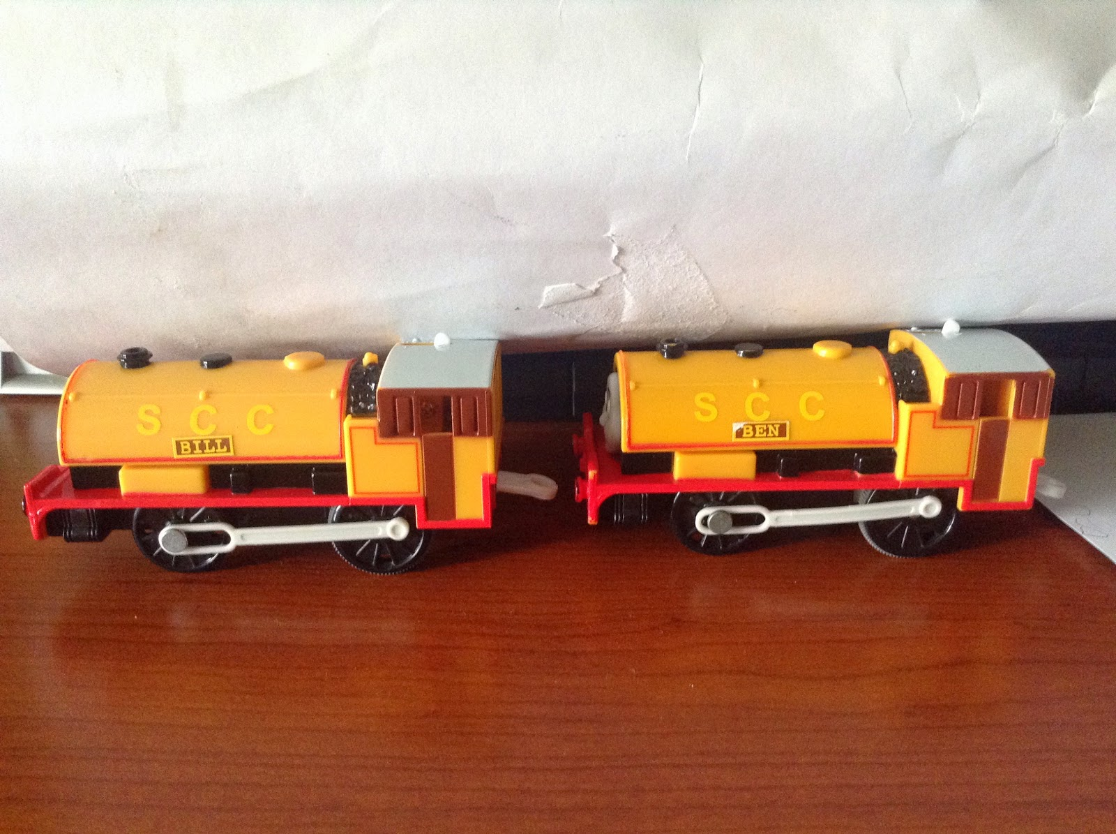 tomy trackmaster meet the twins 11