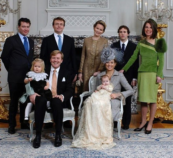 Queen Mathilde of Belgium is one her five godparents