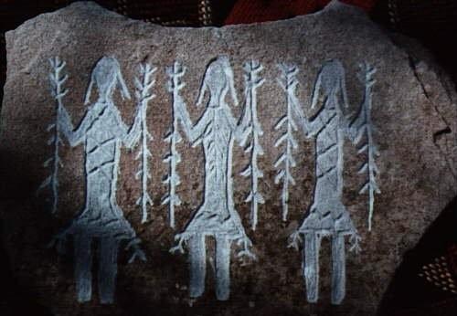 """Possíveis interações ancestrais humanas com seres """"de fora"""" 4"""