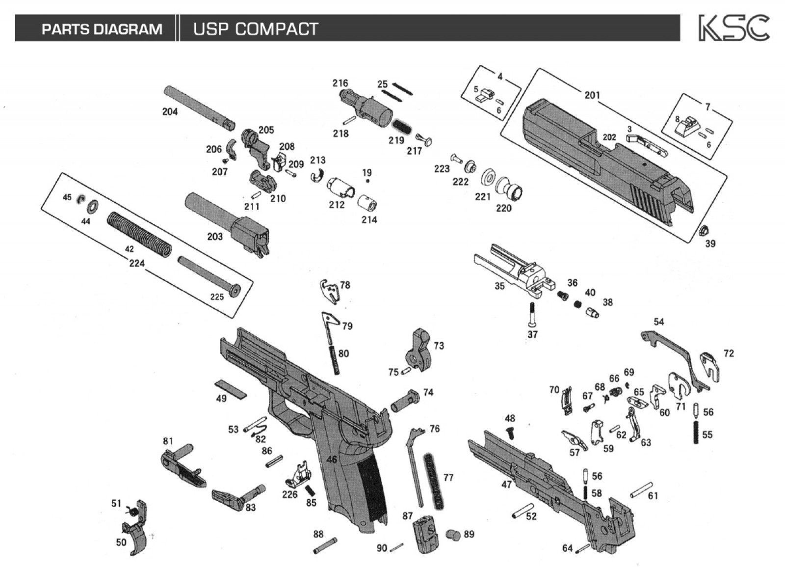 Glock 23 Disassembly Diagram Rj45 To Rj11 Wiring Diy My Airsoft Gun And Other Things