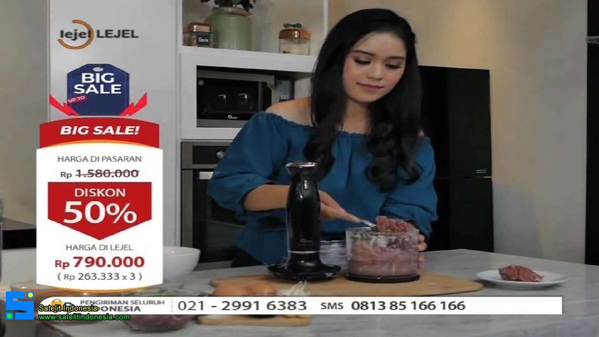 Frekuensi siaran Lejel Home Shopping di satelit Palapa D Terbaru
