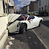 Bridegroom crashes rented £240,000 Ferrari into wall on his wedding day